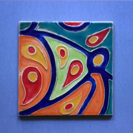 Azulejo Aresta - Desenhos Contemporâneo Persa
