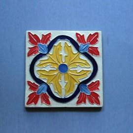 Azulejo Aresta - Folhas 3 Des. Tradicional
