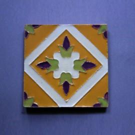 Azulejo Aresta - Botao de Flor 4 Des. Tradicional