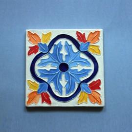 Azulejo Aresta - Folhas 2 Des. Tradicional